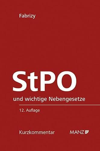 9783214024437: Die österreichische Strafprozessordnung - StPO