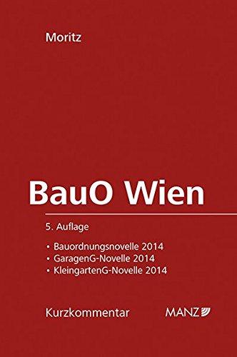 BauO für Wien: Reinhold Moritz