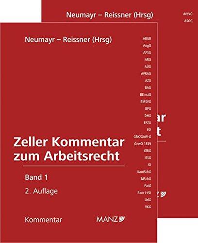 9783214037918: Zeller Kommentar zum Arbeitsrecht (f. Österreich), 2 Bde.
