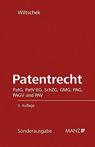 Patentrecht: Lothar Wiltschek