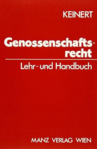 9783214047849: Österreichisches Genossenschaftsrecht: Lehr- und Handbuch