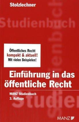 9783214062064: Einf�hrung in das �ffentliche Recht (f. �sterreich)