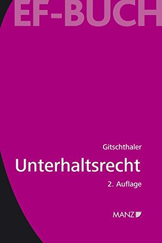 9783214066413: Unterhaltsrecht (f. Österreich)