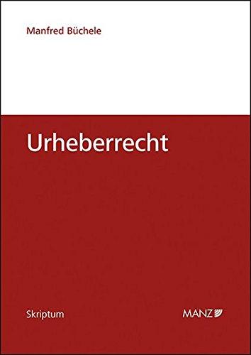 9783214077860: Urheberrecht