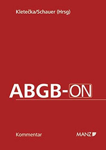 9783214090807: ABGB-ON, Kommentar (f. Österreich)