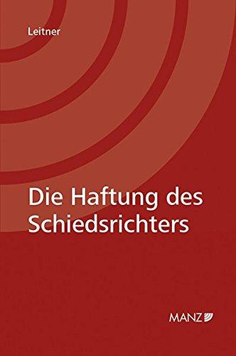Haftung des Schiedsrichters: Max Leitner
