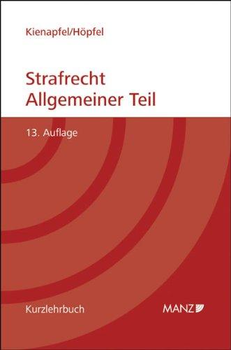 9783214121907: Strafrecht Allgemeiner Teil (Österreichisches Recht)