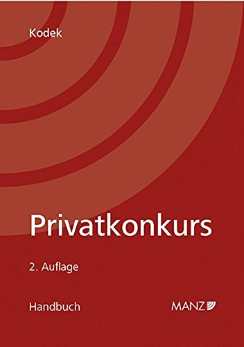 Privatkonkurs: Georg E. Kodek