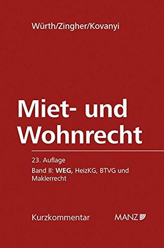 Miet- und Wohnrecht 02: Helmut Würth
