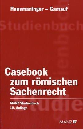 9783214149710: Casebook zum r�mischen Sachenrecht