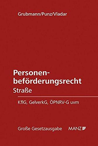 9783214157418: Personenbef�rderungsrecht