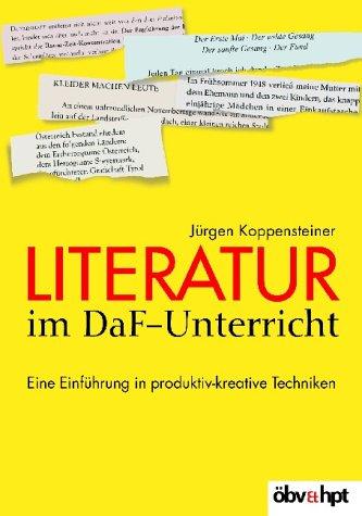 9783215113260: Literatur im DaF-Unterricht . Eine Einführung in produktiv-kreative Techniken