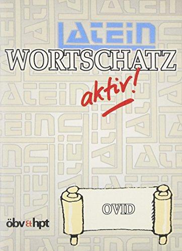 9783215116384: Latein- Wortschatz aktiv: Ovid (Lernmaterialien)