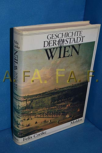 9783217006300: Geschichte der Stadt Wien