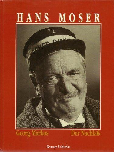 Hans Moser. Der Nachlaß.: Markus, Geogr