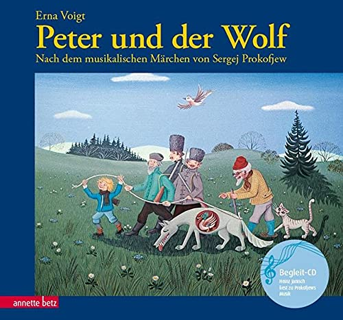 9783219110609: Peter und der Wolf. Mit CD.