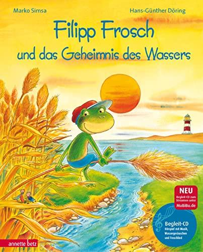 9783219112054: Filipp Frosch und das Geheimnis des Wassers. mit CD