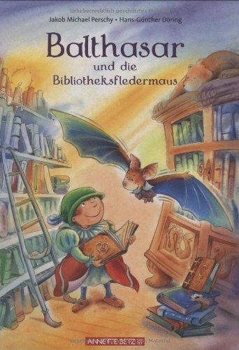 9783219112573: Balthasar und die Bibliotheksfledermaus