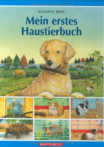 9783219112672: Mein erstes Haustierbuch