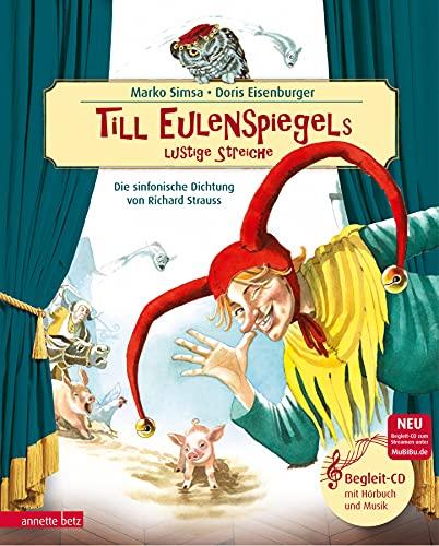 9783219114829: Till Eulenspiegels lustige Streiche mit CD: Sinfonische Dichtung von Richard Strauss