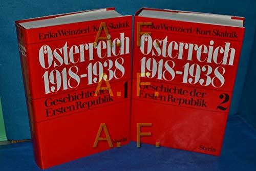 9783222114564: Österreich 1918-1938: Geschichte der Ersten Republik