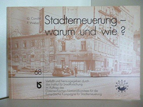 9783224178281: Stadterneuerung - warum und wie?