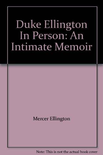 9783225485890: Duke Ellington In Person: An Intimate Memoir