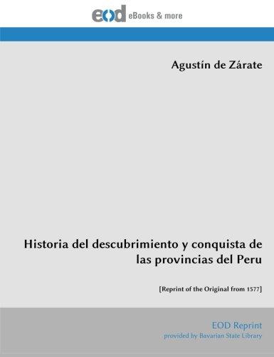 9783226016802: Historia del descubrimiento y conquista de las provincias del Peru: [Reprint of the Original from 1577] (Spanish Edition)