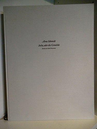 9783251000104: Julia, oder, Die Gemalde (German Edition)