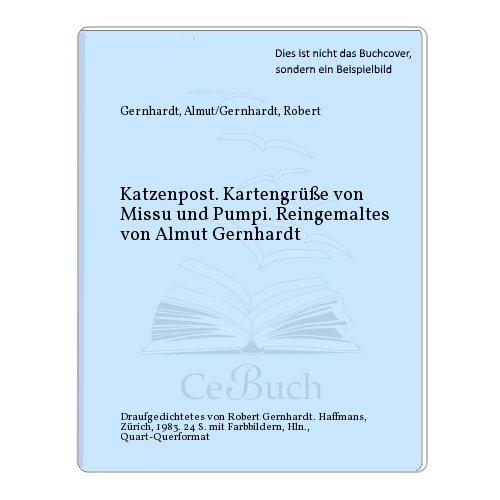 9783251000197: Katzenpost: Kartengrüsse von Missu und Pumpi (German Edition)