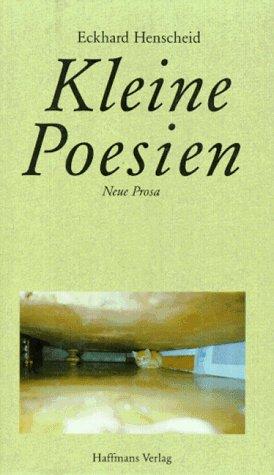 9783251001996: Kleine Poesien