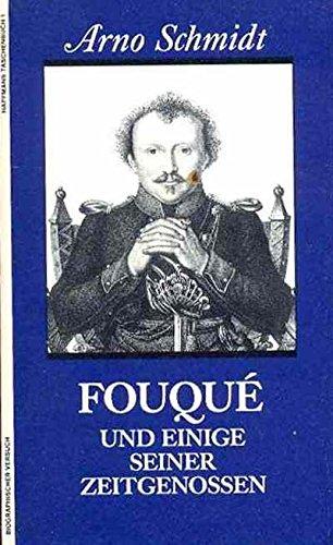 9783251010011: Fouqué und einige seiner Zeitgenossen