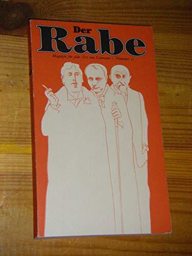 9783251100156: Der dekadente Rabe, Nr 15