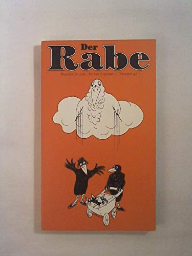 Der Rabe 43. Magazin fur jede Art: Charles Lewinsky, Hg.