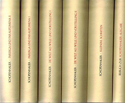 Werke in fünf Bänden: Schopenhauer, Arthur: