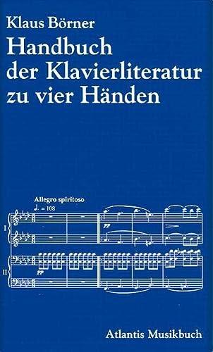 Handbuch der Klavierliteratur zu zwei und zu vier Händen: Klaus Wolters