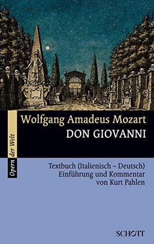 9783254080059: Don Giovanni: Textbuch (Italienisch - Deutsch) (Musik)