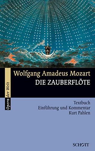 9783254080080: Die Zauberflöte: Textbuch. Einführung und Kommentar