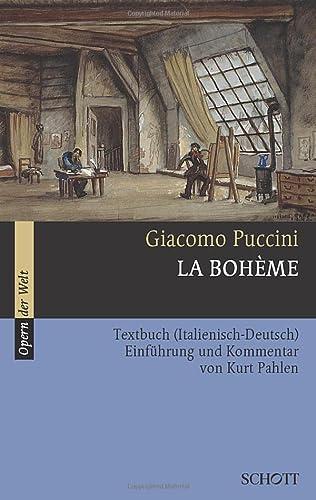 9783254080127: La Boheme: Textbuch. (Opern der Welt)