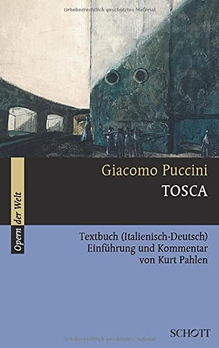 9783254080141: Tosca: Textbuch (Italienisch-Deutsch) (Serie Musik)