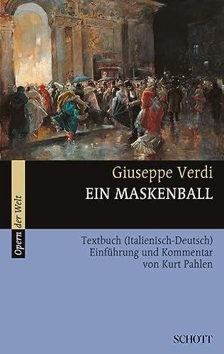 9783254080233: Ein Maskenball: Textbuch (Italienisch - Deutsch). (Opern der Welt)