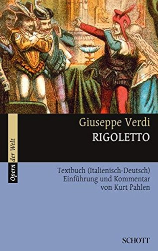 9783254080257: Rigoletto: Textbuch (Italienisch - Deutsch). Einf�hrung und Kommentar