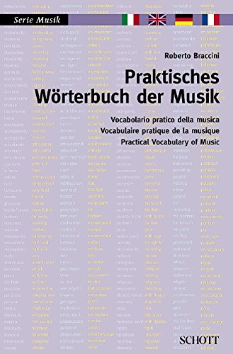 9783254082794: Practical Vocabulary of Music