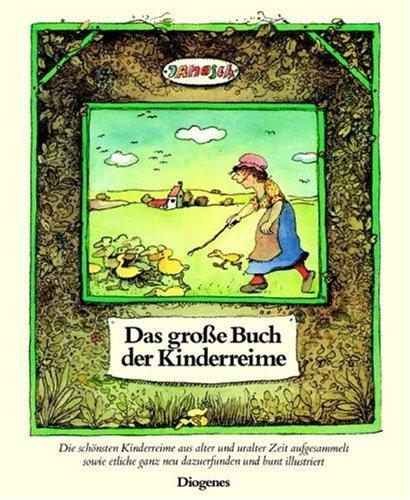 9783257006469: Das große Buch der Kinderreime