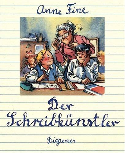9783257008647: Der Schreibkünstler.