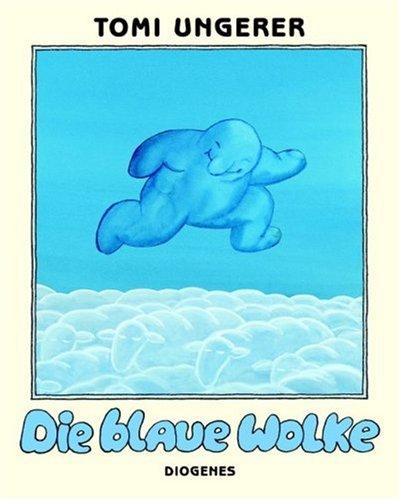9783257008678: Die blaue Wolke.