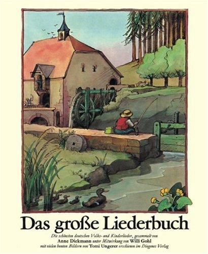 9783257010114: Das große Liederbuch. Sonderausgabe.