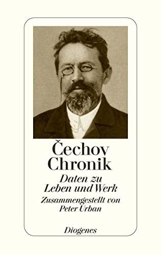 9783257016079: Cechov Chronik: Daten zu Leben und Werk