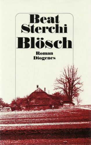 9783257016420: Blosch: Roman (German Edition)