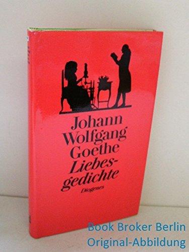 9783257055306 Liebesgedichte Von Goethe Die Schonsten